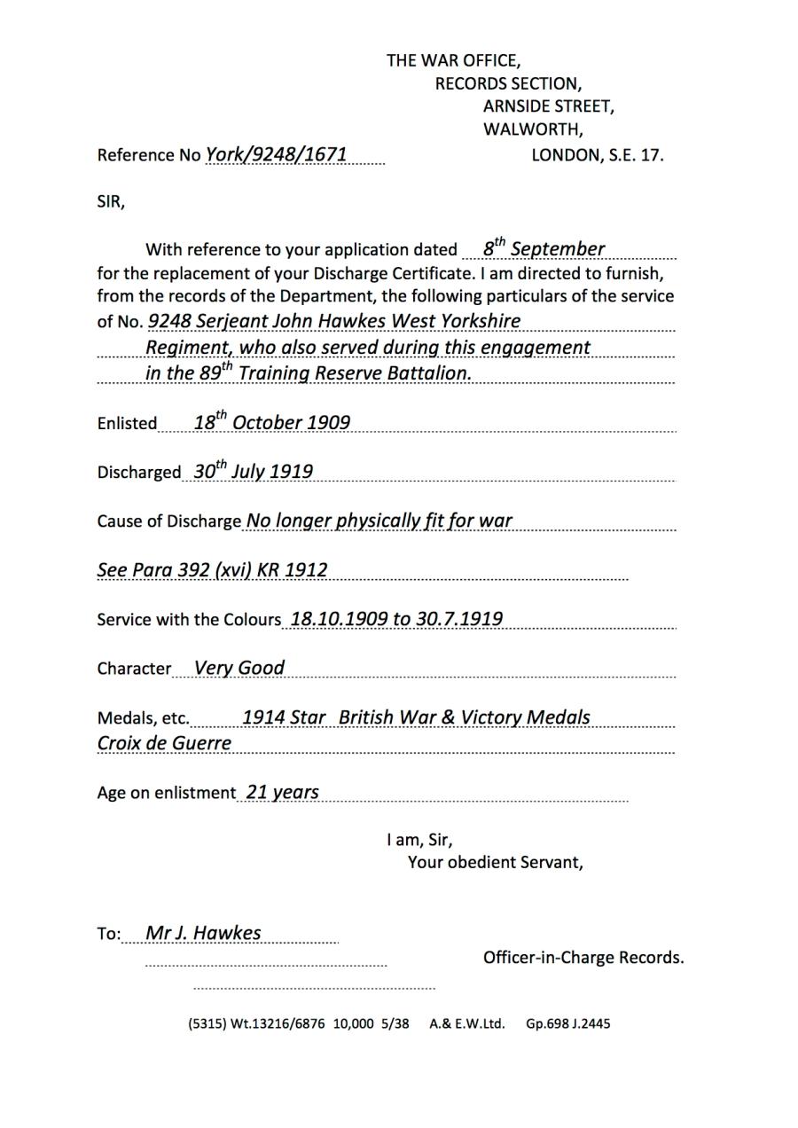 Arnside Letter Two